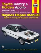 Toyota Camry and Holden Apollo Australian Automotive Repair Manual
