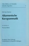 Altarmenische Kurzgrammatik [GER]