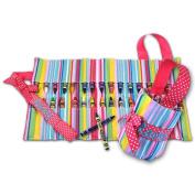 Doodlebugz Crayola Crayon Keeper Pink Stripe