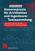 Honorarpraxis fur Architekten und Ingenieure [GER]