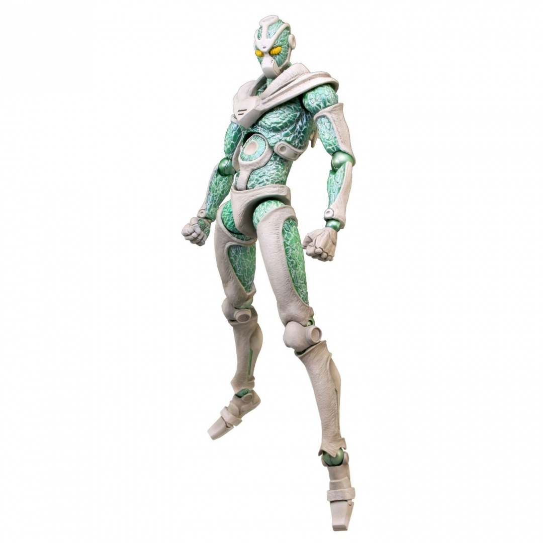 JoJo`s Bizarre Adventure Hierophant Green PVC Super Action