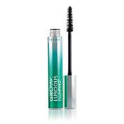Revlon Grow Luscious Plumping Mascara Waterproof, Blackest Black WP, 0.34 Fluid Ounce
