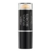 L'Oreal Studio Secrets Shine Absorbing Mattifying Stick Foundation 143 Gold Amber