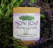 Handmade Noni Soap - Rosmary Lavender - 120ml Bar