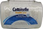 Cottonelle FreshCare Flushable Cleansing Cloths 1 Dispenser + 42ct Cloths