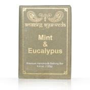 Amazing Ayurveda Premium Handmade Soap- Mint & Eucalyptus, 130ml