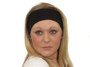 Glitz4Girlz Black Wide Headband