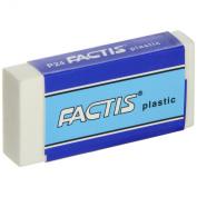 Factis Graphite Plastic Vinyl Eraser - Box of 24 - White