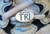 Race-kred TRI Triathlete Shoelace Charm