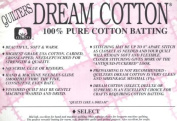 Quilter's Dream Cotton Batting - Natural Select-Mid Loft-Queen