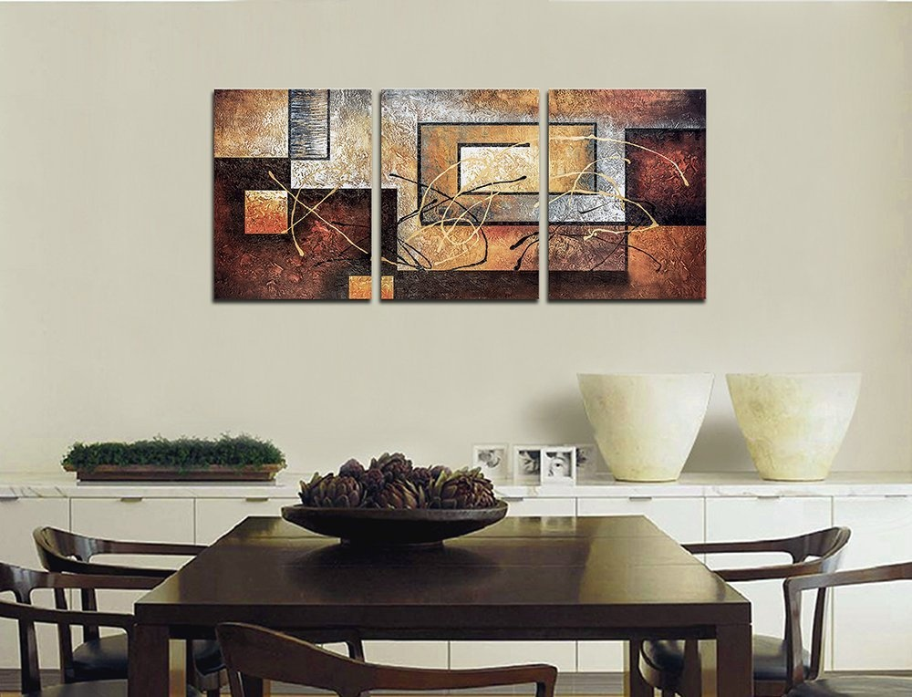 Phoenix decor abstract canvas wall art oil paintings on for Ready set decor reviews
