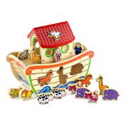 Viga Wooden Noah's Ark Shape Sorter #50345