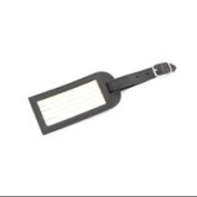 Leather Luggage Tag (Black)