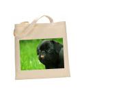 Pug DOG 100% Cotton Bag(FC) #199