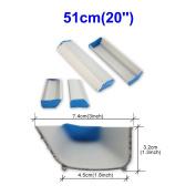 Emulsion Scoop Coater Silk Screen Printing Aluminium Coating Tools DIY Apply (51cm
