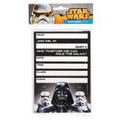 Star Wars Classic Invitations 8 Pack