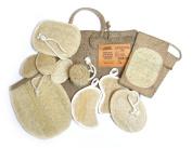 Loofah Savannah Bath and Shower Gift Basket, Large