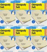 Profoot Chiropody Felt X 6 Packs