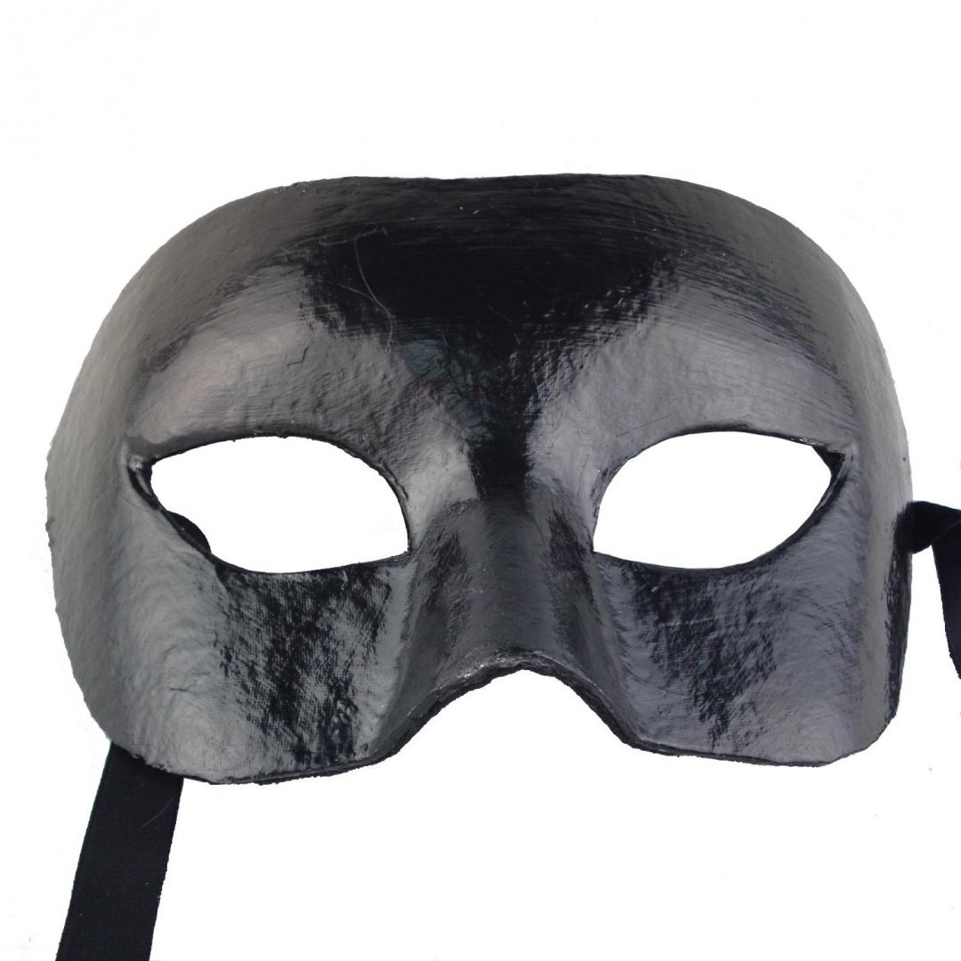 Nati-Men-039-s-Paper-Masquerade-Mask-Party-Costume-Colour-Black-Delivery-is-Free