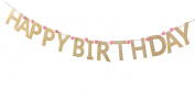 Mud Pie Banner, Glitter Birthday