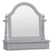 Million Dollar Baby Classic Sullivan Vanity Mirror, Grey