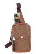 Leaper Mens Cool Canvas Shoulder Sling Sport Hiking Satchel Hand Outdoor Bag