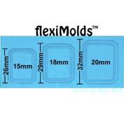 Fleximold Emerald Cut Frame Mould