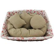 Baby Pillow,LISINGTOOL Newborn Filler Wheat Donut Posing Baby Pillow