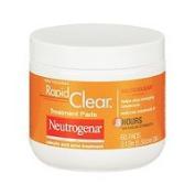Neutrogena Rapid Clear Daily Treatment Pads Salicylic Acid Acne Treatment, Maximum Strength, 60 pads - 2pc