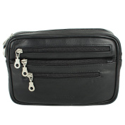 Lederbags Men's Organiser Clutch Black BLACK