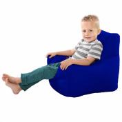 Comfy Toddler Armchair Beanbag Chair-Royal Blue