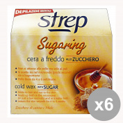 Set of 6 strep Waxing Cold Sugar-Honey 250 Gr. Body Care