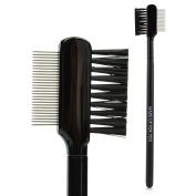 Makeup Eyelash Brush Steel Comb Brush Double-side Brush