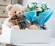 Luxury Baby Boy Hamper - Exclusive to The Gift Box