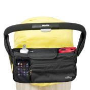 Stroller Organiser Bag – Large Capacity - Premium Baby Stroller Bags Fits