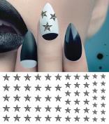 Zebra Star Water Slide Nail Art Decals - Salon Quality!