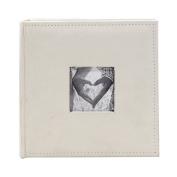 FaCraft Wedding Photo Album Holds 200 10cm x 15cm Photos with Memo Area & Fabric Cover