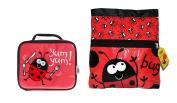 Bugzz Kids Stuff Children's School Bag Set - Swimming Bag and Lunch Bag Set…