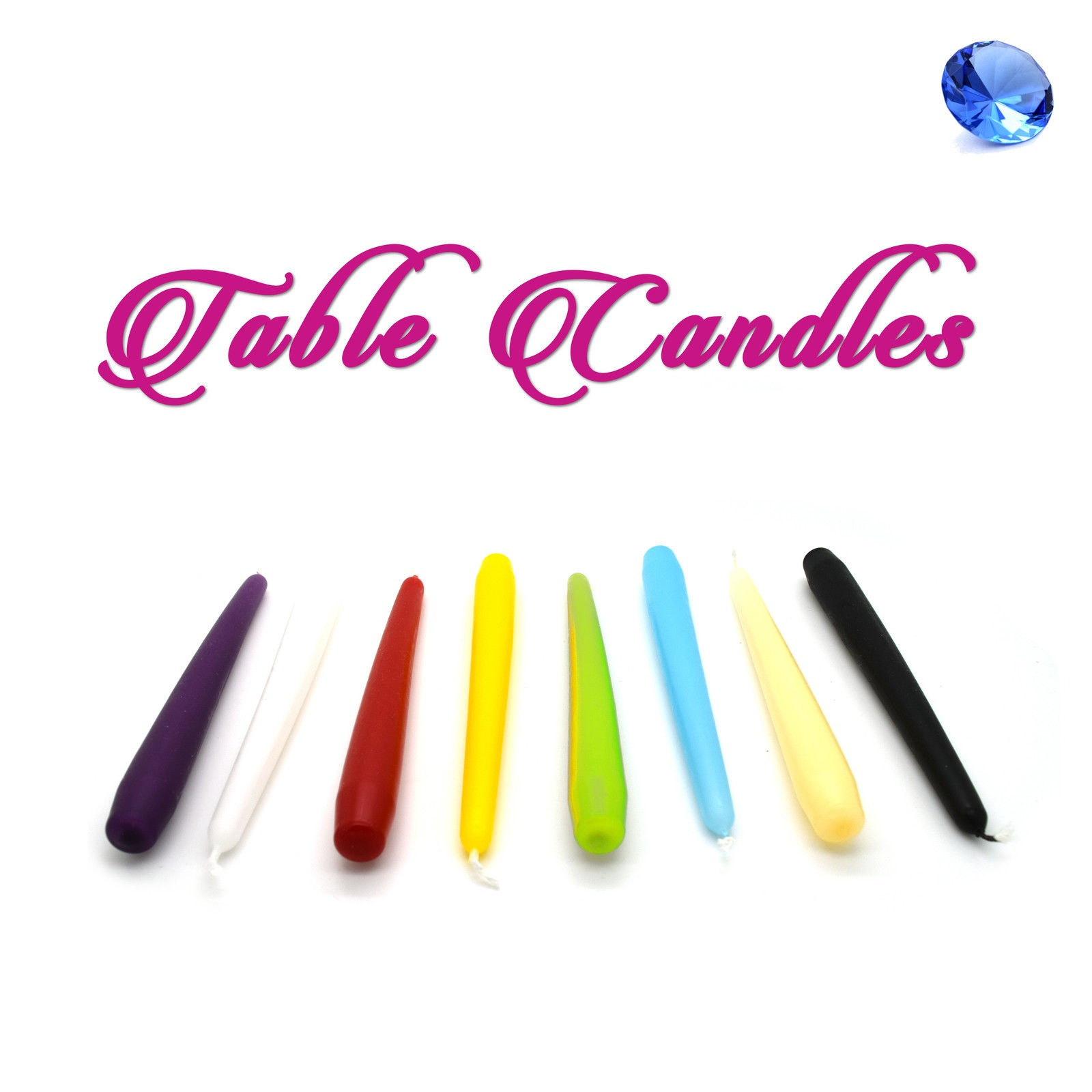 20cm-Table-Candles-Non-Drip-Tapered-End-For-Dinner-amp-Wedding-Table-Christmas-6-5