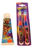 Ninja Turtle Toothpaste And Toothbrush