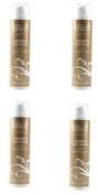 4x Abi O 200ml Glistening Gold Shimmer Tanning Self Tan Booster Paraben Free