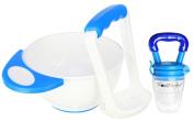Food Feeder Nibbler Teether | Fresh Food Masher Feeding Bowl by PomPerfect