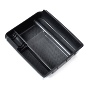 Black Inner Control Armrest Storage Secondary Glove Box Organised Container for 2011-2014 Kia Sportage