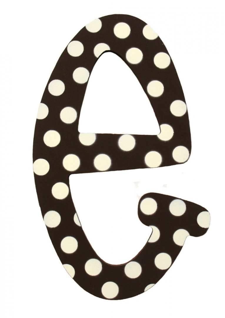 letter a with polka dots my baby sam polka dot letters brown white 11street 22783 | original