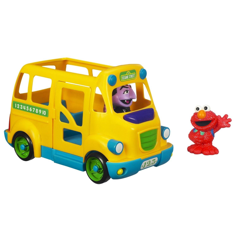 Sesame Street Playskool School Bus